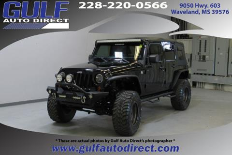 2012 Jeep Wrangler Unlimited for sale in Waveland, MS