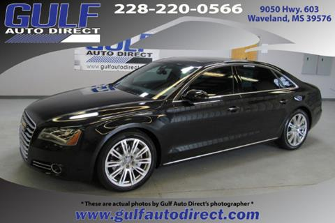 2014 Audi A8 L for sale in Waveland, MS