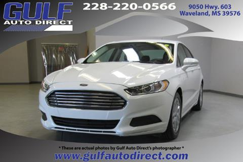 2016 Ford Fusion for sale in Waveland, MS