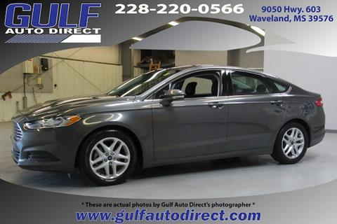 2015 Ford Fusion for sale in Waveland, MS