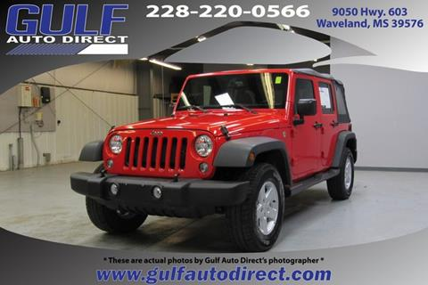 2017 Jeep Wrangler Unlimited for sale in Waveland, MS