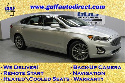 2019 Ford Fusion Hybrid for sale in Waveland, MS