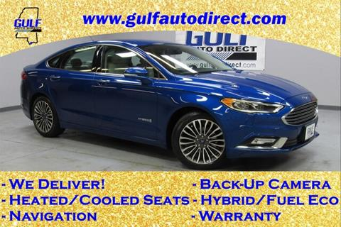 2018 Ford Fusion Hybrid for sale in Waveland, MS