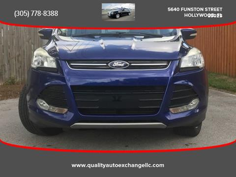 2013 Ford Escape for sale in Hollywood, FL