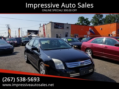 2008 Ford Fusion for sale in Philadelphia, PA
