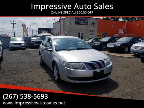 2006 Saturn Ion for sale in Philadelphia, PA