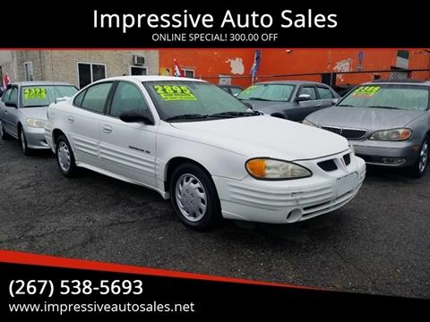2002 Pontiac Grand Am for sale in Philadelphia, PA