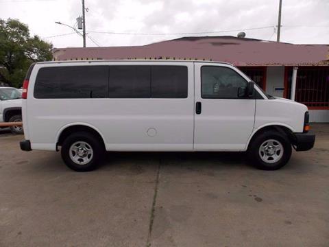 2008 Chevrolet Express Passenger for sale in Houston, TX