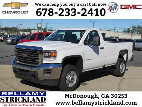 2016 GMC Sierra 2500HD for sale in Mcdonough, GA