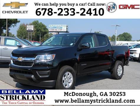 2018 Chevrolet Colorado for sale in Mcdonough, GA