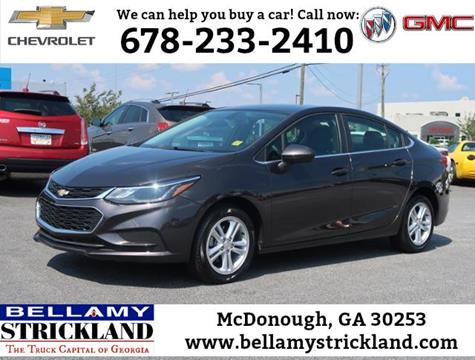 2017 Chevrolet Cruze for sale in Mcdonough, GA