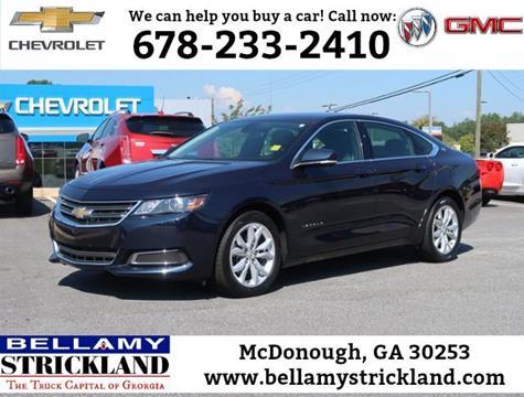 2017 Chevrolet Impala for sale in Mcdonough, GA