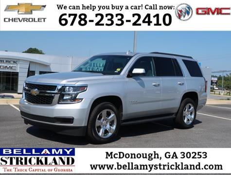 2016 Chevrolet Tahoe for sale in Mcdonough, GA