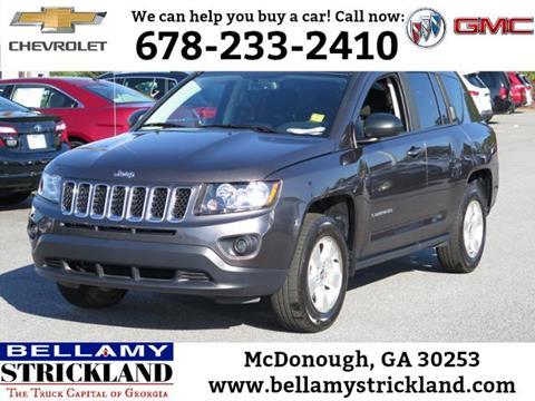 2016 Jeep Compass for sale in Mcdonough, GA