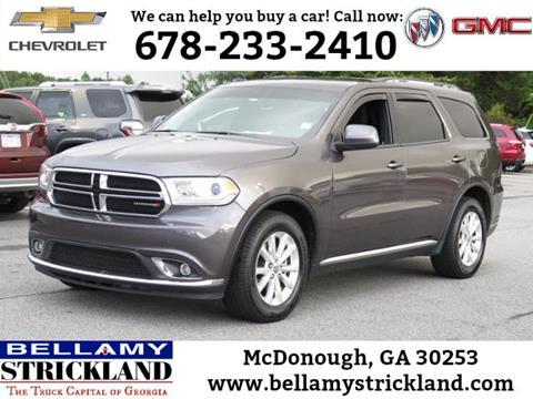 2014 Dodge Durango for sale in Mcdonough, GA