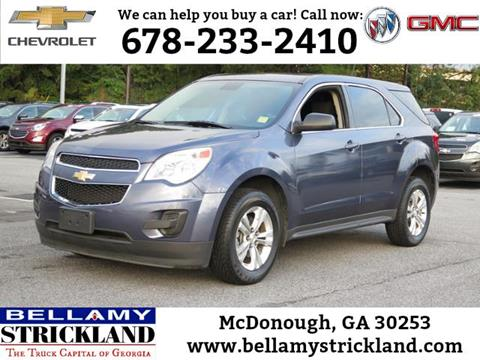 2013 Chevrolet Equinox for sale in Mcdonough, GA