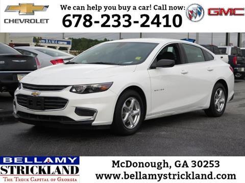 2017 Chevrolet Malibu for sale in Mcdonough, GA