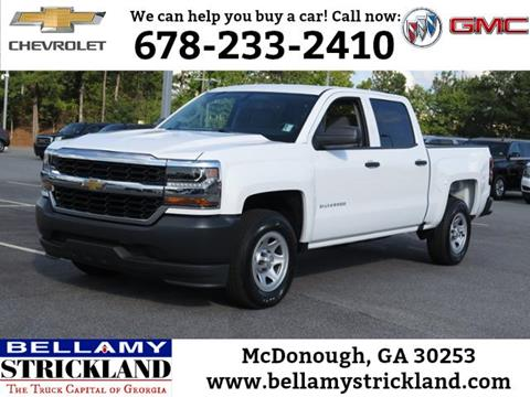 2018 Chevrolet Silverado 1500 for sale in Mcdonough, GA