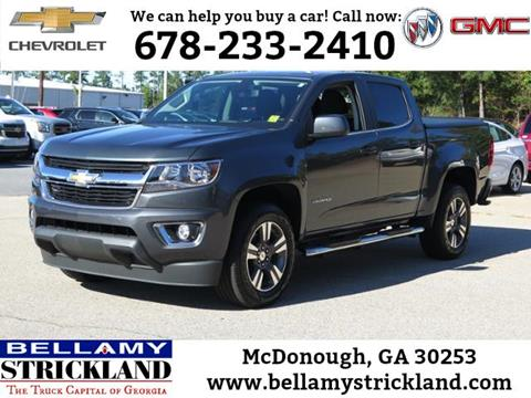 2015 Chevrolet Colorado for sale in Mcdonough, GA