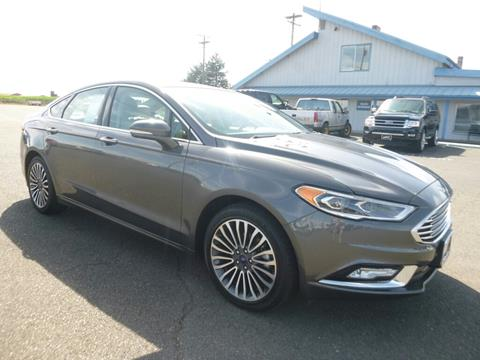 2017 Ford Fusion for sale in Aumsville, OR