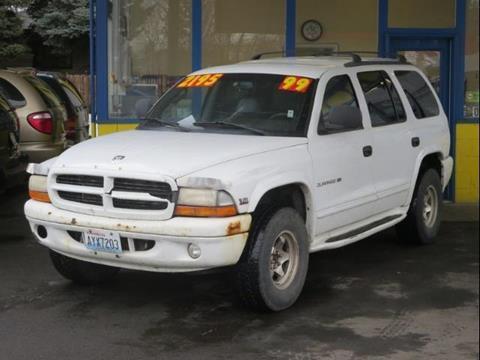 1999 Dodge Durango for sale in Spokane WA
