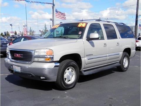 2004 GMC Yukon XL for sale in Spokane WA
