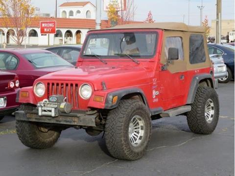 1997 Jeep Wrangler for sale in Spokane WA
