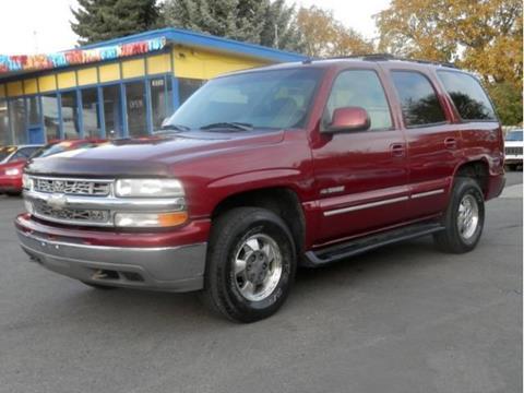 2002 Chevrolet Tahoe for sale in Spokane WA
