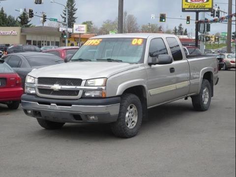 2004 Chevrolet Silverado 1500 for sale in Spokane WA