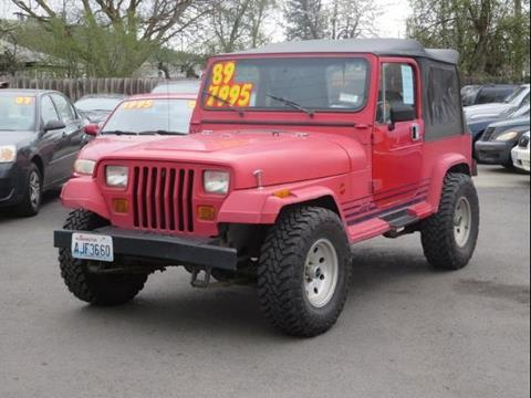 1989 Jeep Wrangler for sale in Spokane, WA