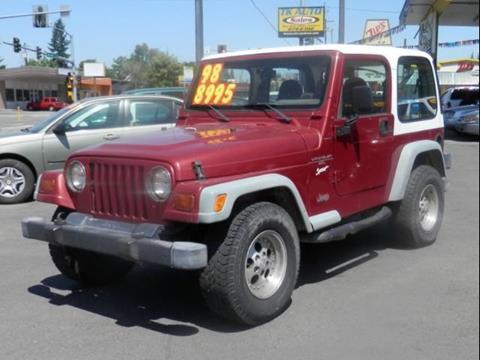 1998 Jeep Wrangler for sale in Spokane WA