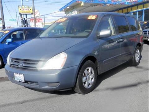 2006 Kia Sedona for sale in Spokane WA