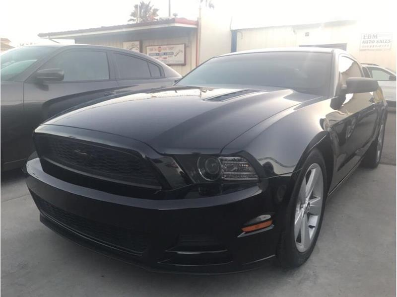 2014 Ford Mustang V6 Premium Coupe 2d In Dinuba Ca Ebm Auto Sales