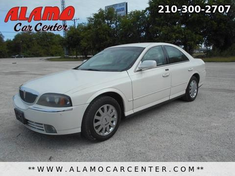 2005 Lincoln LS for sale in San Antonio, TX