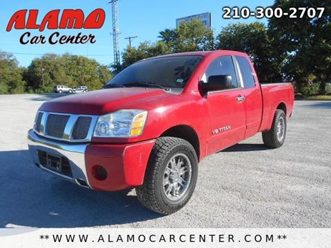 2007 Nissan Titan for sale in San Antonio, TX