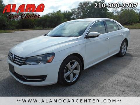 2012 Volkswagen Passat for sale in San Antonio, TX