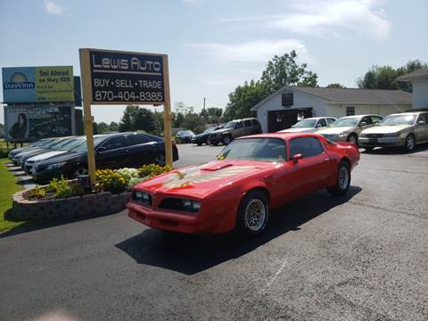 1978 Pontiac Firebird Trans Am for sale in Mountain Home, AR