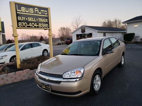 2005 Chevrolet Malibu LS for sale at LEWIS AUTO in Mountain Home AR