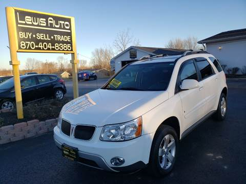 2006 Pontiac Torrent for sale at LEWIS AUTO in Mountain Home AR