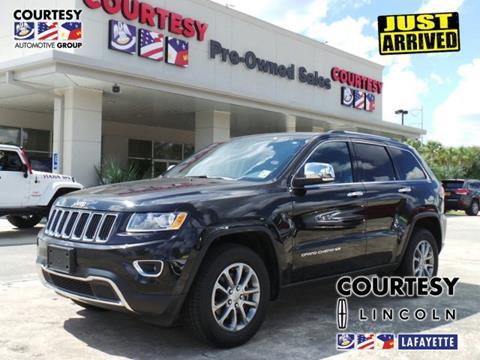 2015 Jeep Grand Cherokee for sale in Lafayette, LA