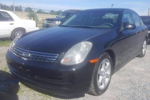 2003 Infiniti G35 for sale at Branch Avenue Auto Auction in Clinton MD
