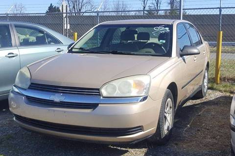 2005 Chevrolet Malibu for sale at Branch Avenue Auto Auction in Clinton MD