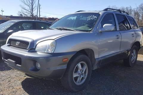 2004 Hyundai Santa Fe for sale at Branch Avenue Auto Auction in Clinton MD