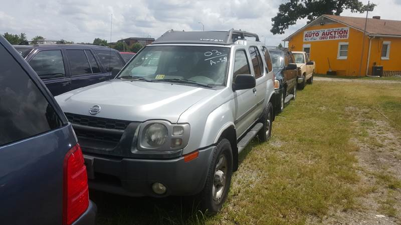 2003 Nissan Xterra for sale at Branch Avenue Auto Auction in Clinton MD