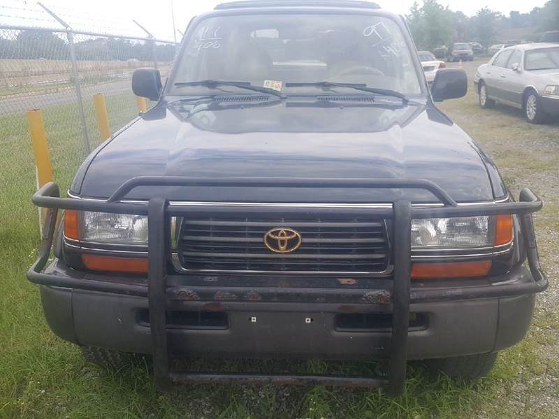 1997 Toyota Land Cruiser for sale at Branch Avenue Auto Auction in Clinton MD