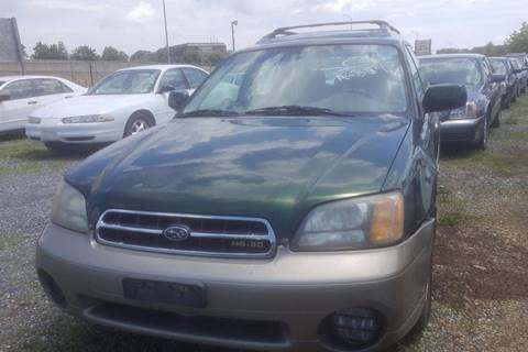 2002 Subaru Outback for sale at Branch Avenue Auto Auction in Clinton MD