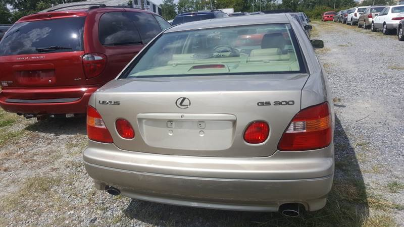 2000 Lexus GS 300 for sale at Branch Avenue Auto Auction in Clinton MD