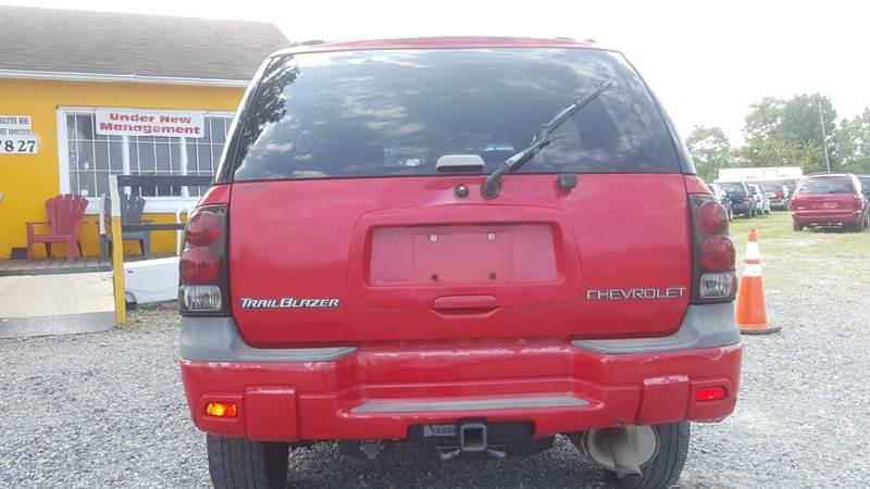 2002 Chevrolet TrailBlazer for sale at Branch Avenue Auto Auction in Clinton MD