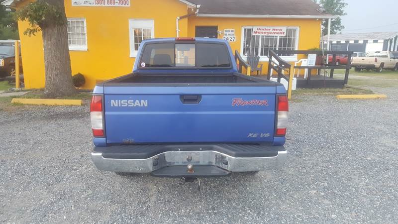1999 Nissan Frontier for sale at Branch Avenue Auto Auction in Clinton MD