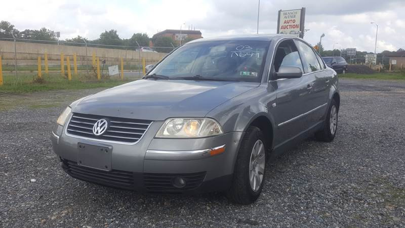 2003 Volkswagen Passat for sale at Branch Avenue Auto Auction in Clinton MD